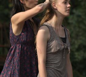 Masami Sakurai und Jessica van Cauteren