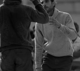 Paul Canestraro und Clément Le Disquay