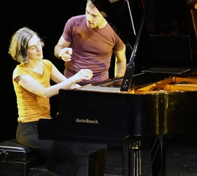 Annalisa Derosi und Franco Celestino